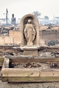 A photo of Sandy's aftermath: an icon for faith after 2012's pro-family losses.