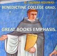Aquinas himself had a Benedictine