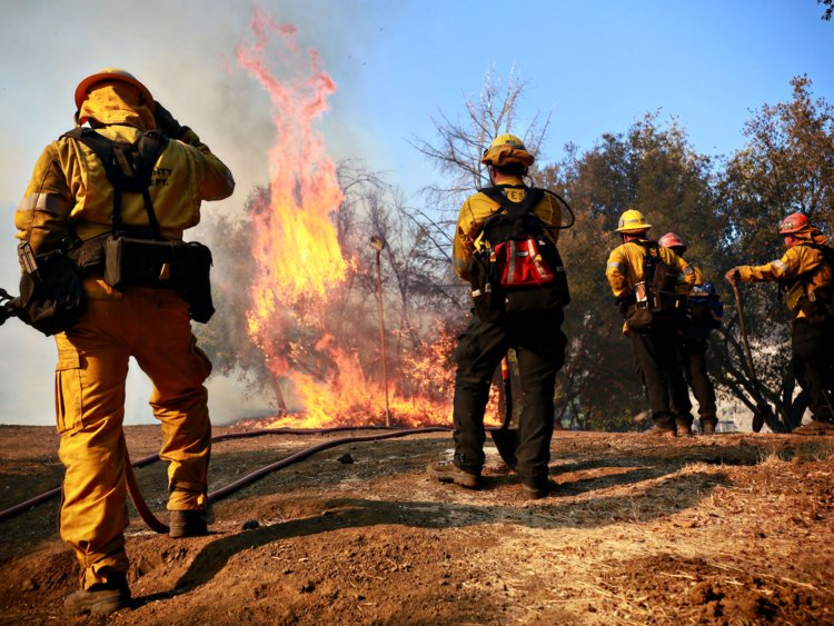 5bedabf5f556fc18335fe183 750 563 - Kim Kardashian's Private Firefighters Expose America's Fault Lines