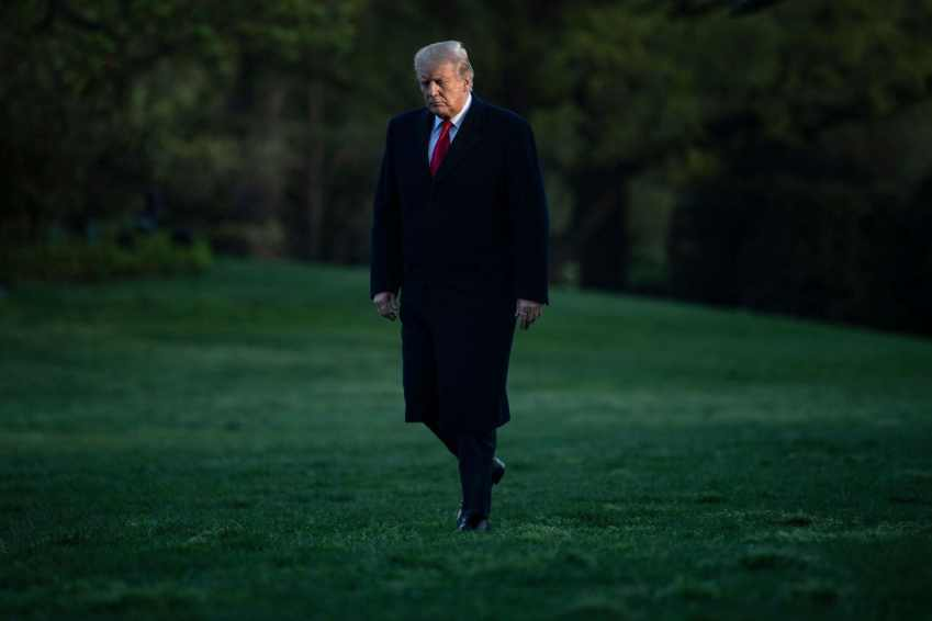 UGPU4GTAWUI6TP5NG2T6WNWLMA - Confidential draft IRS memo says tax returns must be given to Congress unless president invokes executive privilege