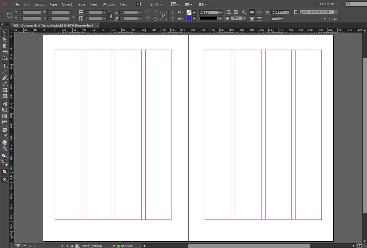 Thesis Layout Indesign