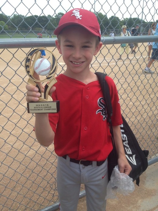 We skipped town and #1 and his team secured the DG A Ball championship!