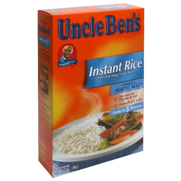 uncle ben s instant rice white long grain