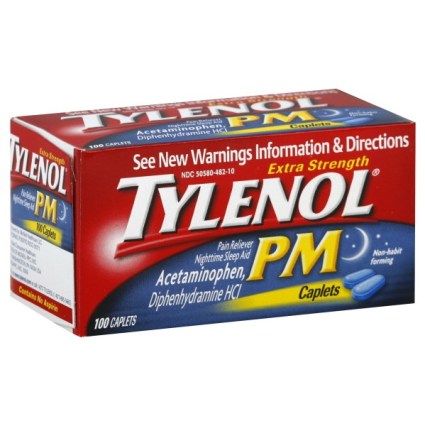 Image result for tylenol pm 500 mg