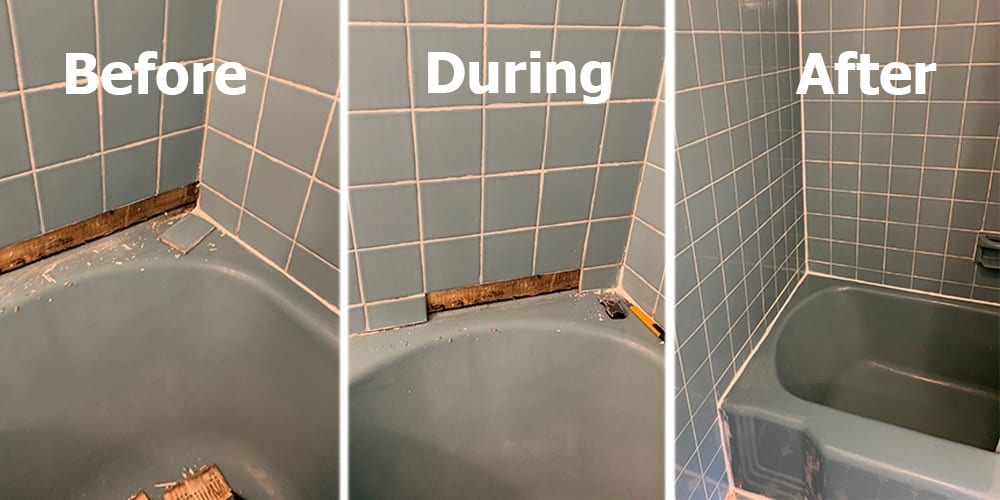 tile regrouting services perfected