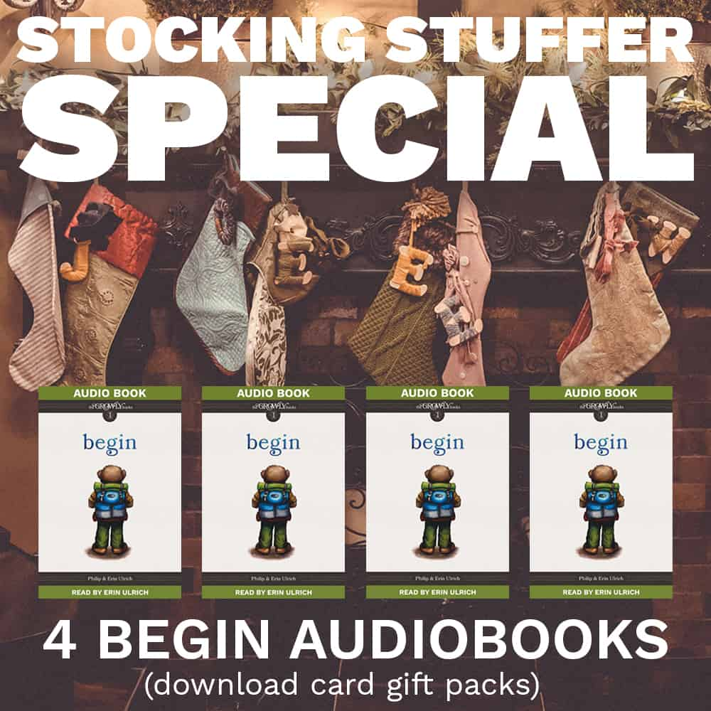 Begin Audiobook Stocking Stuffer Special 2017