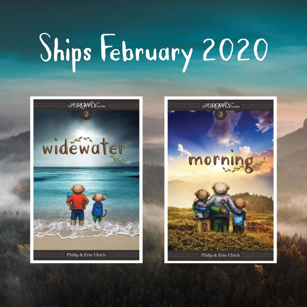 Widewater and Morning Paperbacks Ship February 2020