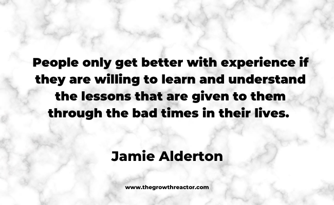 a quote about life lessons