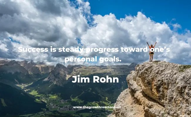 quote for goal setting