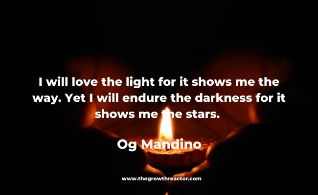 light in darkness quotes