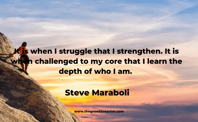 overcoming the struggle of life quotes