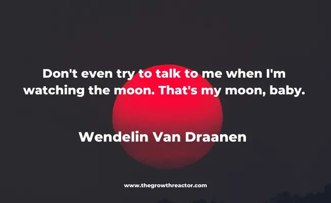 motivational moon quote