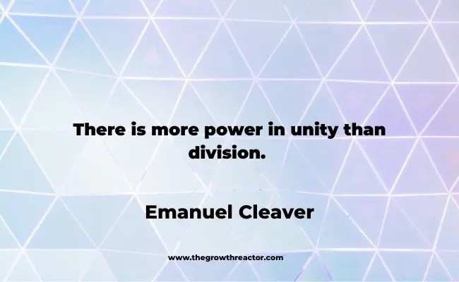 quote about unity