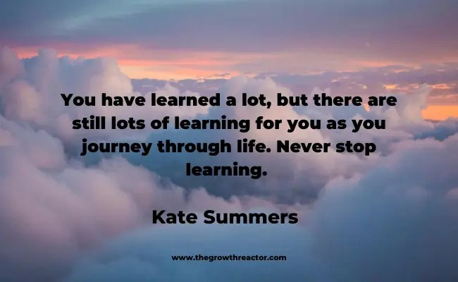 quote about the journey