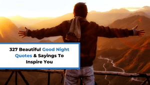327 Beautiful Good Night Quotes & Sayings To Inspire You