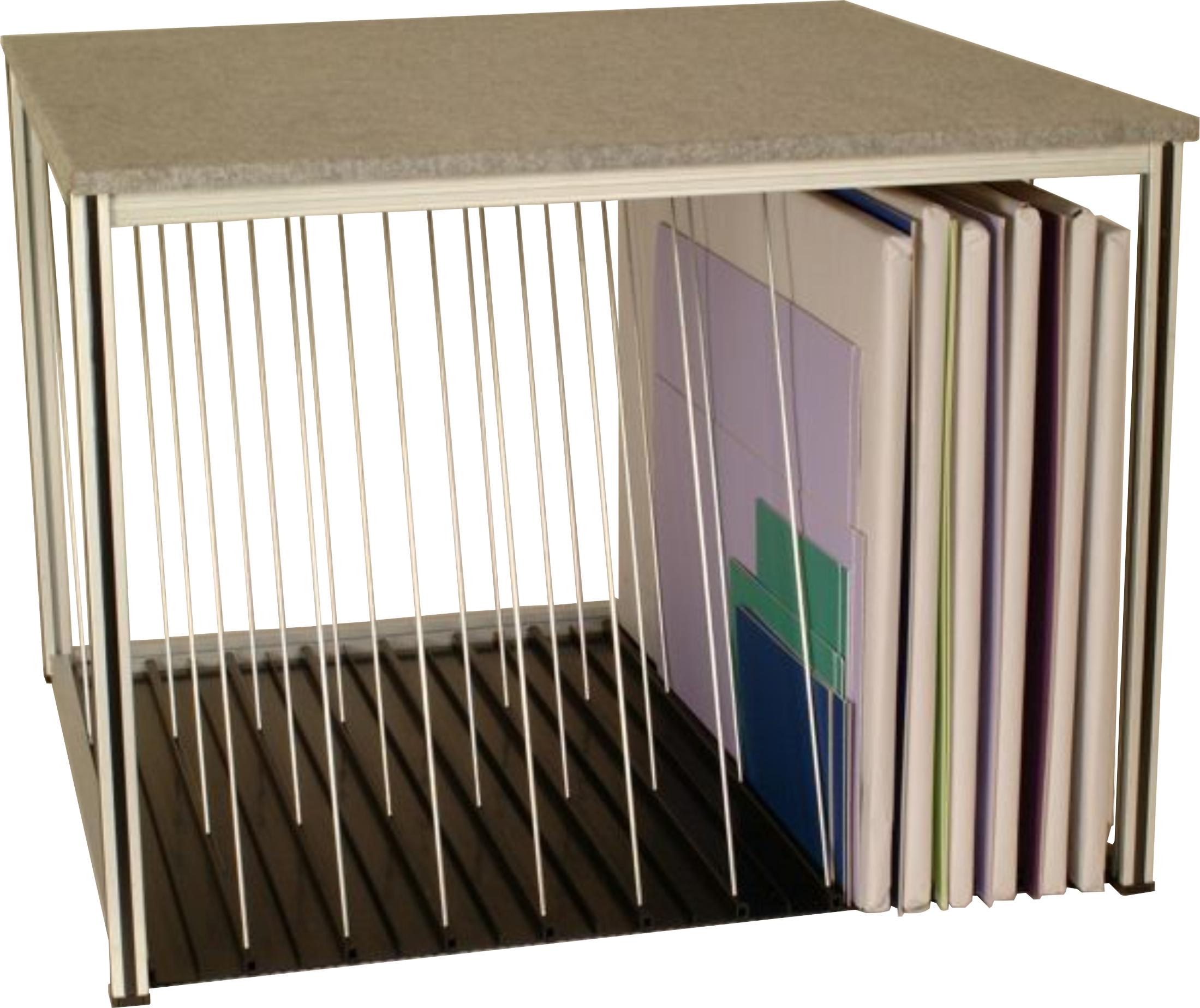 board storage 48 wx46 dx35 5 h 10 slots