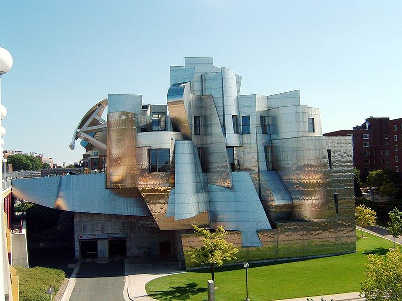 Las Frank Gehry Vegas Architecture