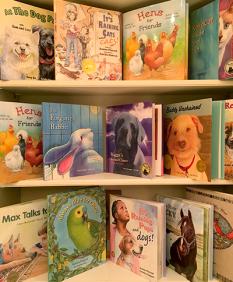 The Gryphon Press Bookshelf