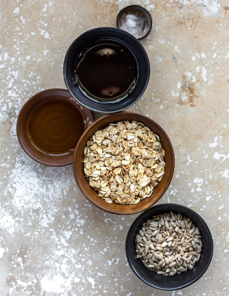 ingredients for nut free granola
