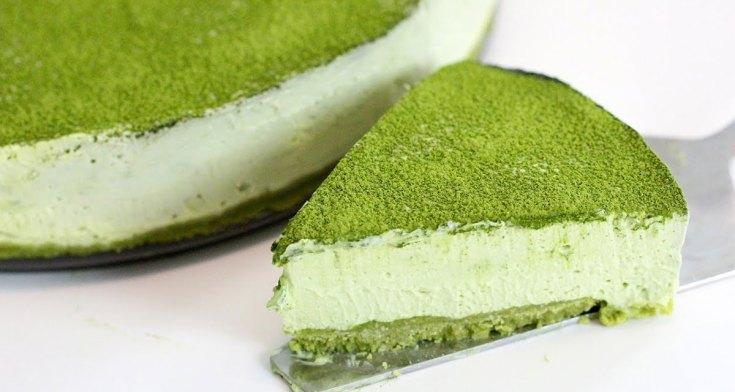 Macha Cheese Cake