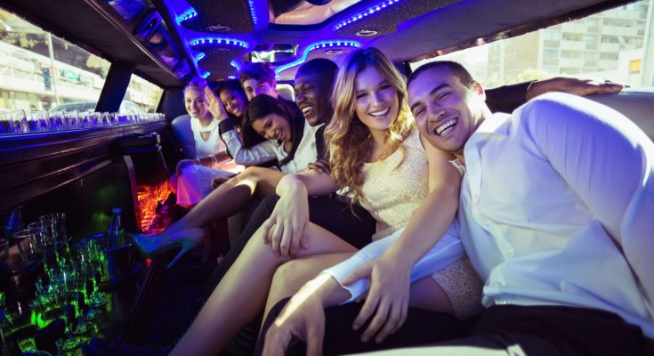 party bus for prom night