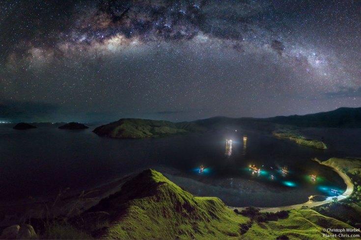 Komodo Island Milky Way