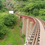 Rail Track near Jogmandi Waterfall