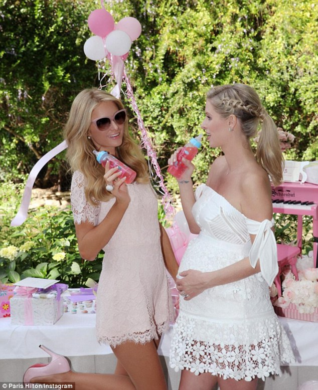 Nicky Hilton Baby Shower At The Hotel Bel Air In La The Guest Shop