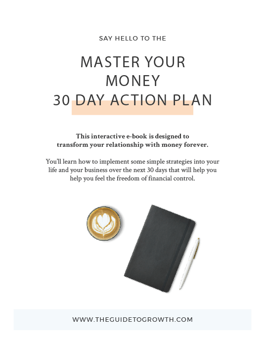 Master Your Money 30 Day Action Plan