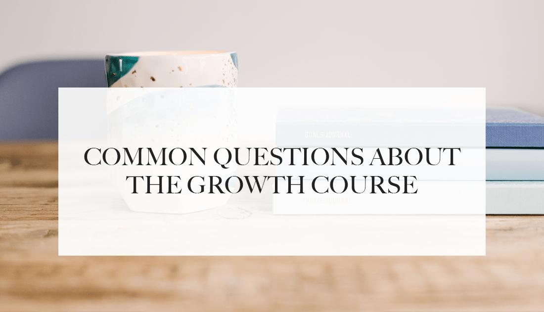 questions growth course