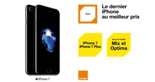 iPhone 7 et 7 Plus : à partir du 25 novembre chez Orange Tunisie