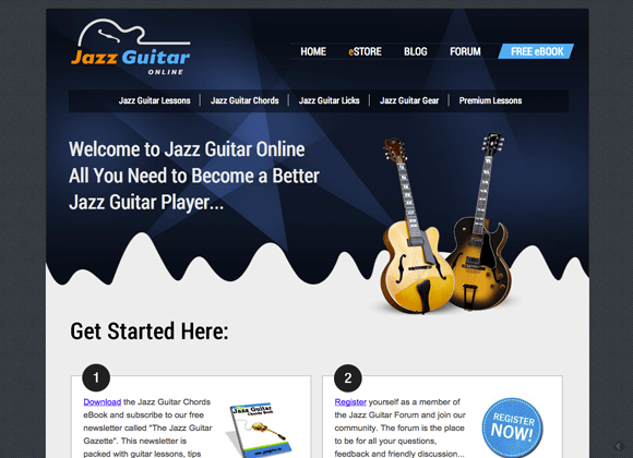 Jazz Guitar Blog