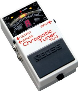 BOSS Roland TU3 Compact Pedal Tuner