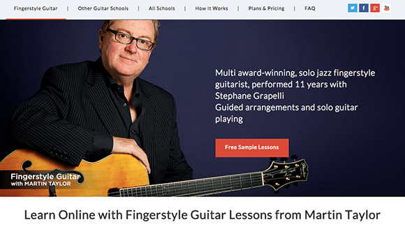 Martin Taylor Fingerstyle Lessons
