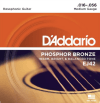 D'Addario Phosphor Bronze Resophonic Guitar Strings