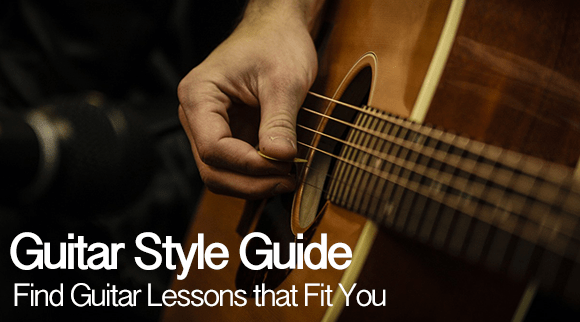 The Guitar Style Guide: Find Guitar Lessons That Fit You