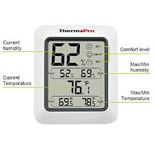 thermopro indoor humidity and temperature