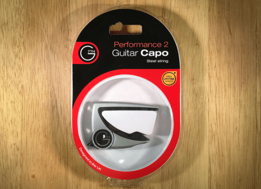 G7 Capo Gear Review - In Package front