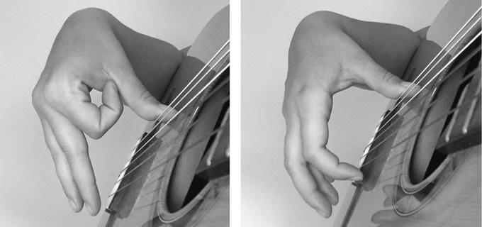 Spanish Guitar Strumming Technique