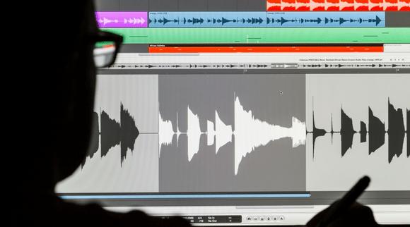Sound wave forms - audio signals