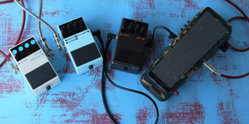 3 Effects Pedals To Take Your Guitar Playing to the Next Level