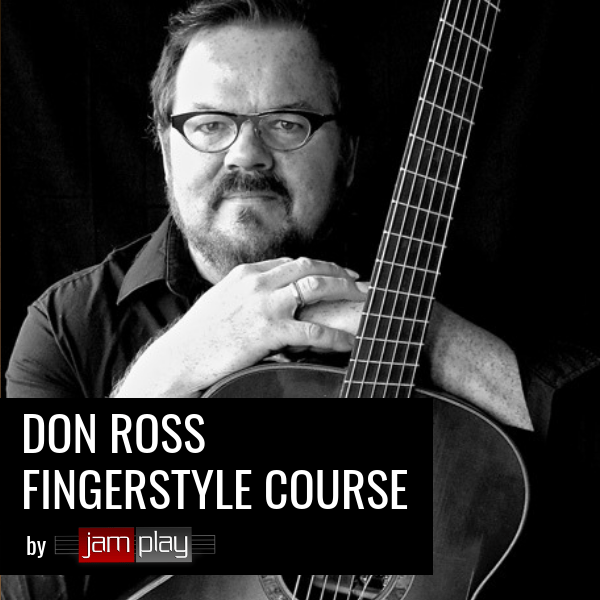 Don Ross Fingerstyle Guitar Course - JamPlay
