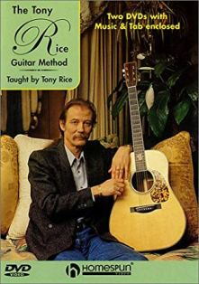 how to play like tony rice - dvd lessons