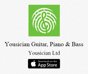 Yousician Guitar, Piano & Bass