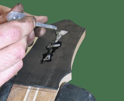 Acoustic Guitar Inlay repair