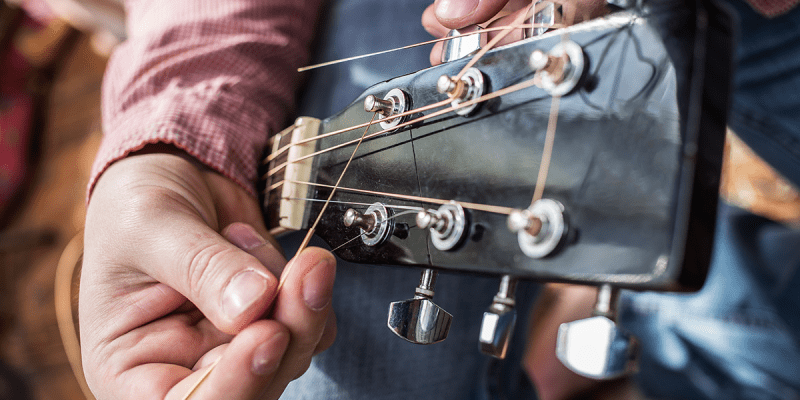 Top 5 Best Acoustic Guitar Strings Header Image