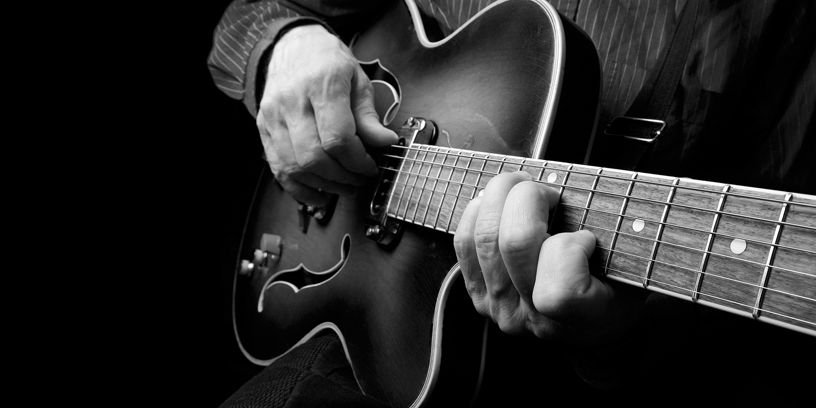 header image for blues pentatonic article