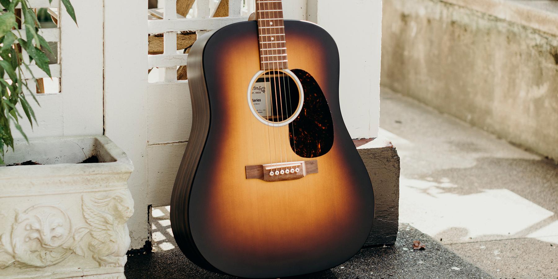 Martin X Series acoustic guitar