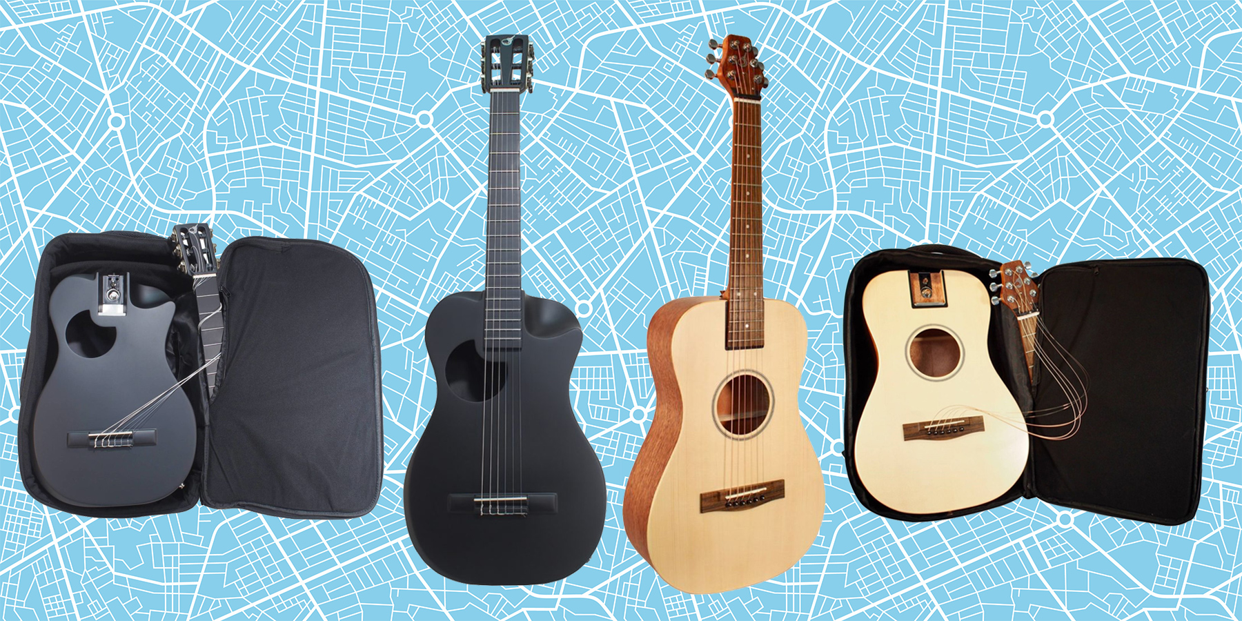 Journey Instruments Travel Guitars