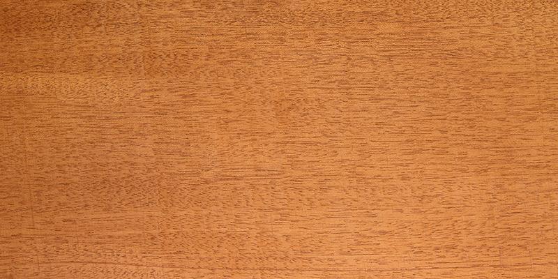 Hondura Mahogany grain closeup, used as a guitar tonewood